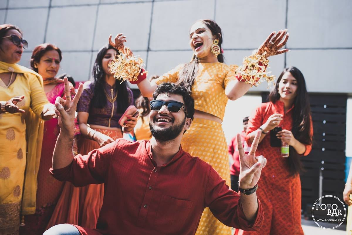 Celebrations are on! by Fotobar Wedding-photography | Weddings Photos & Ideas