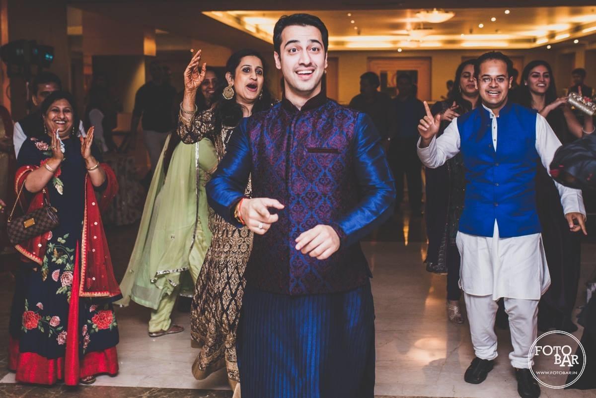 Rocking it in royal blue by Fotobar Wedding-photography | Weddings Photos & Ideas
