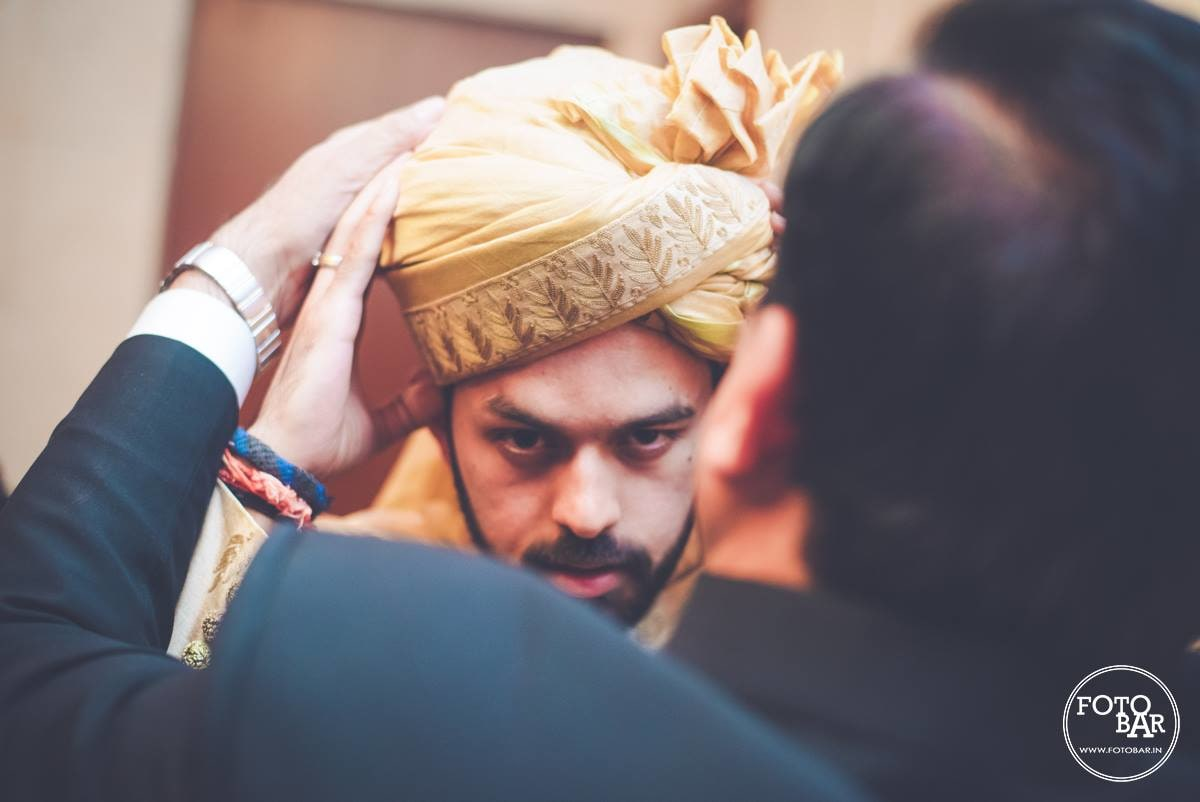 Adorned groom by Fotobar Wedding-photography | Weddings Photos & Ideas