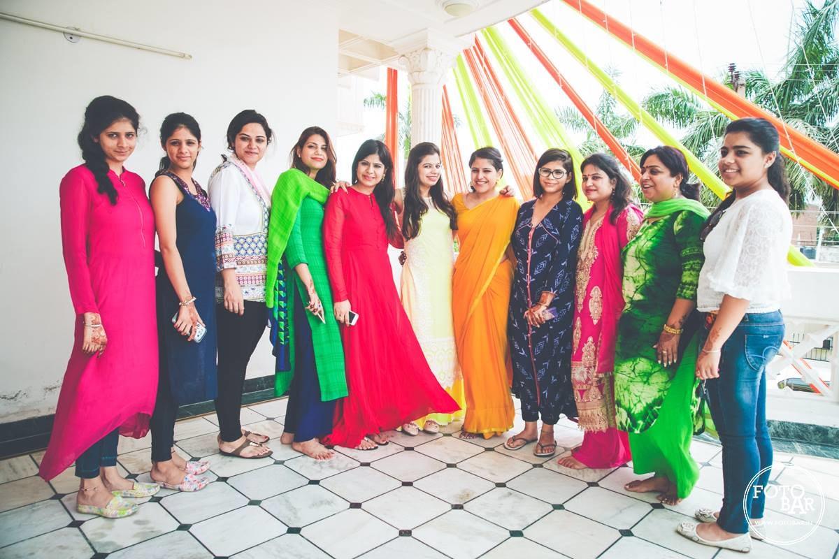 Squad of enticing ladies by Fotobar Wedding-photography | Weddings Photos & Ideas