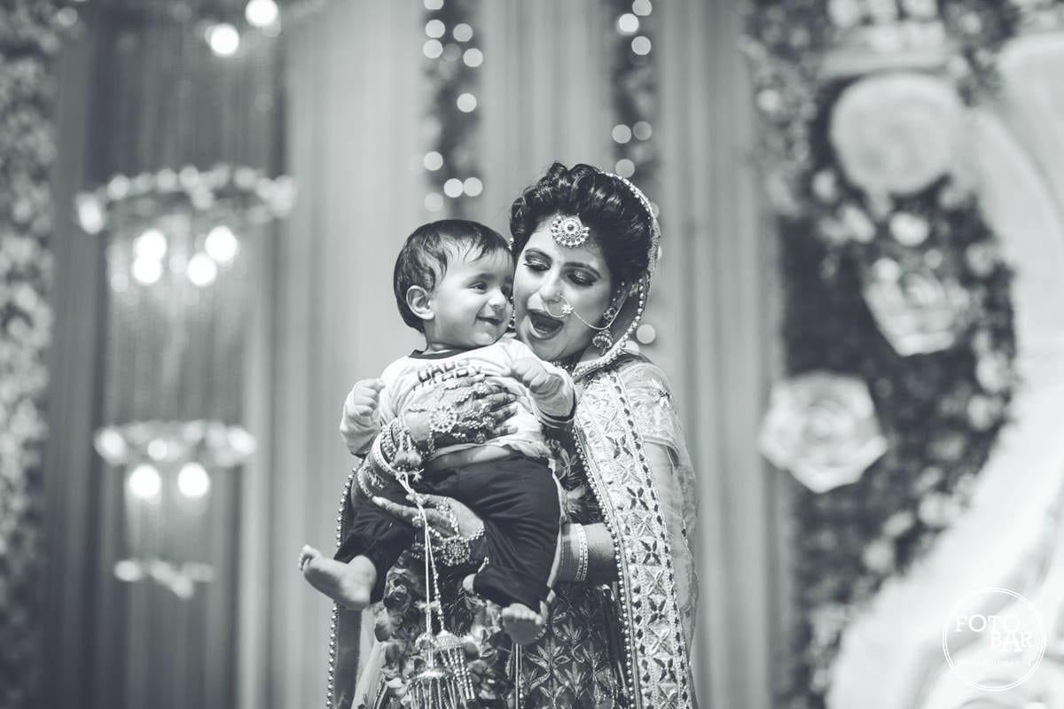 Cuteness delineated by Fotobar Wedding-photography | Weddings Photos & Ideas