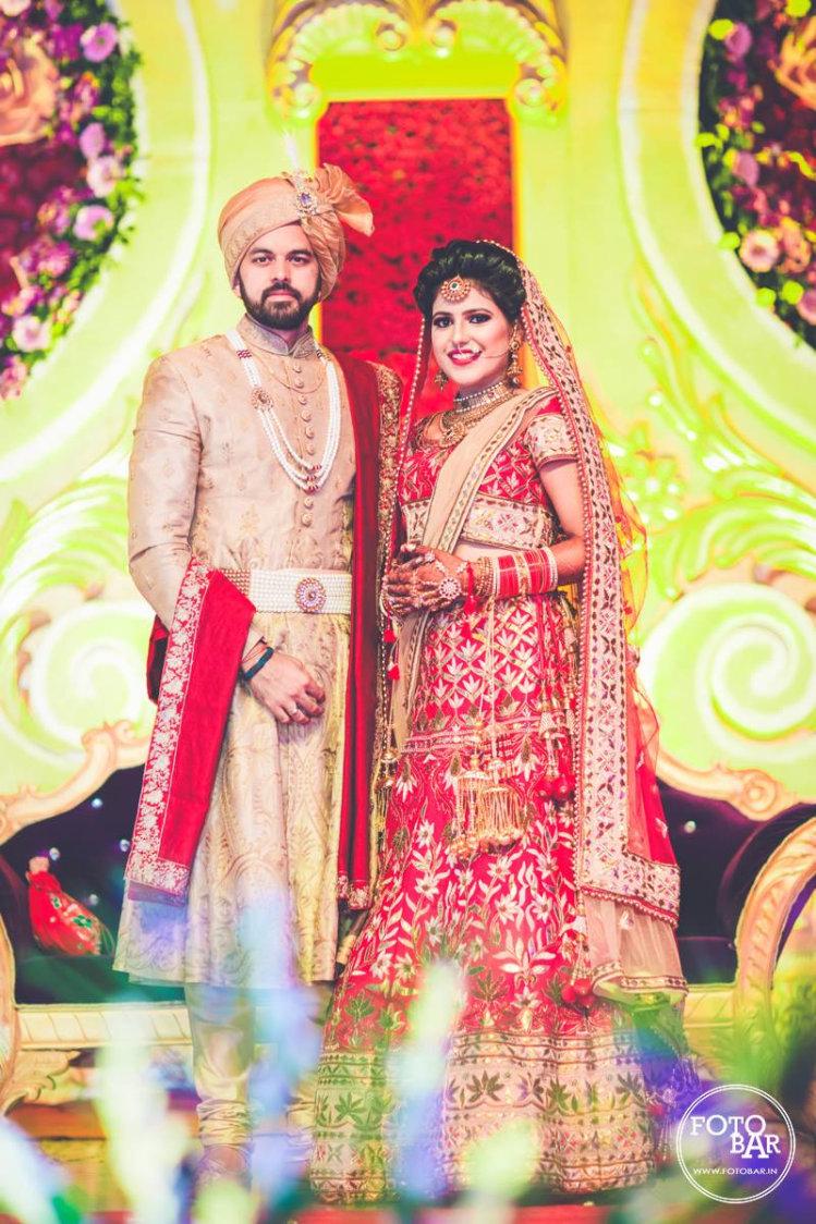 Outlandish bride and groom by Fotobar Wedding-photography | Weddings Photos & Ideas