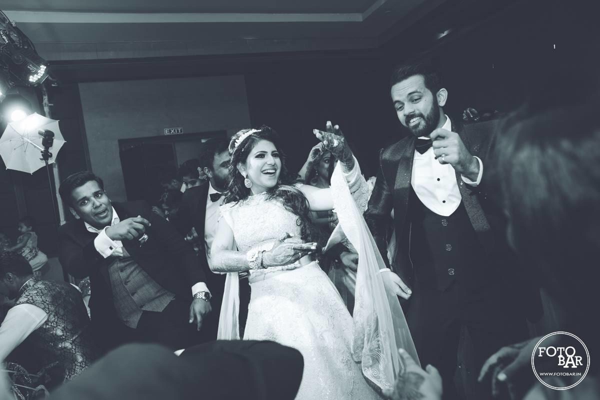 Jubilant couple by Fotobar Wedding-photography | Weddings Photos & Ideas