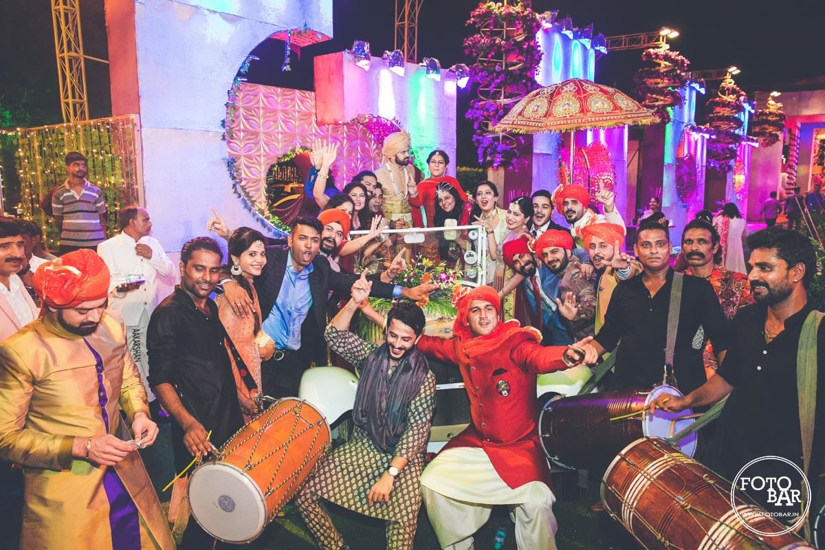 Band baaja baraat by Fotobar Wedding-photography | Weddings Photos & Ideas