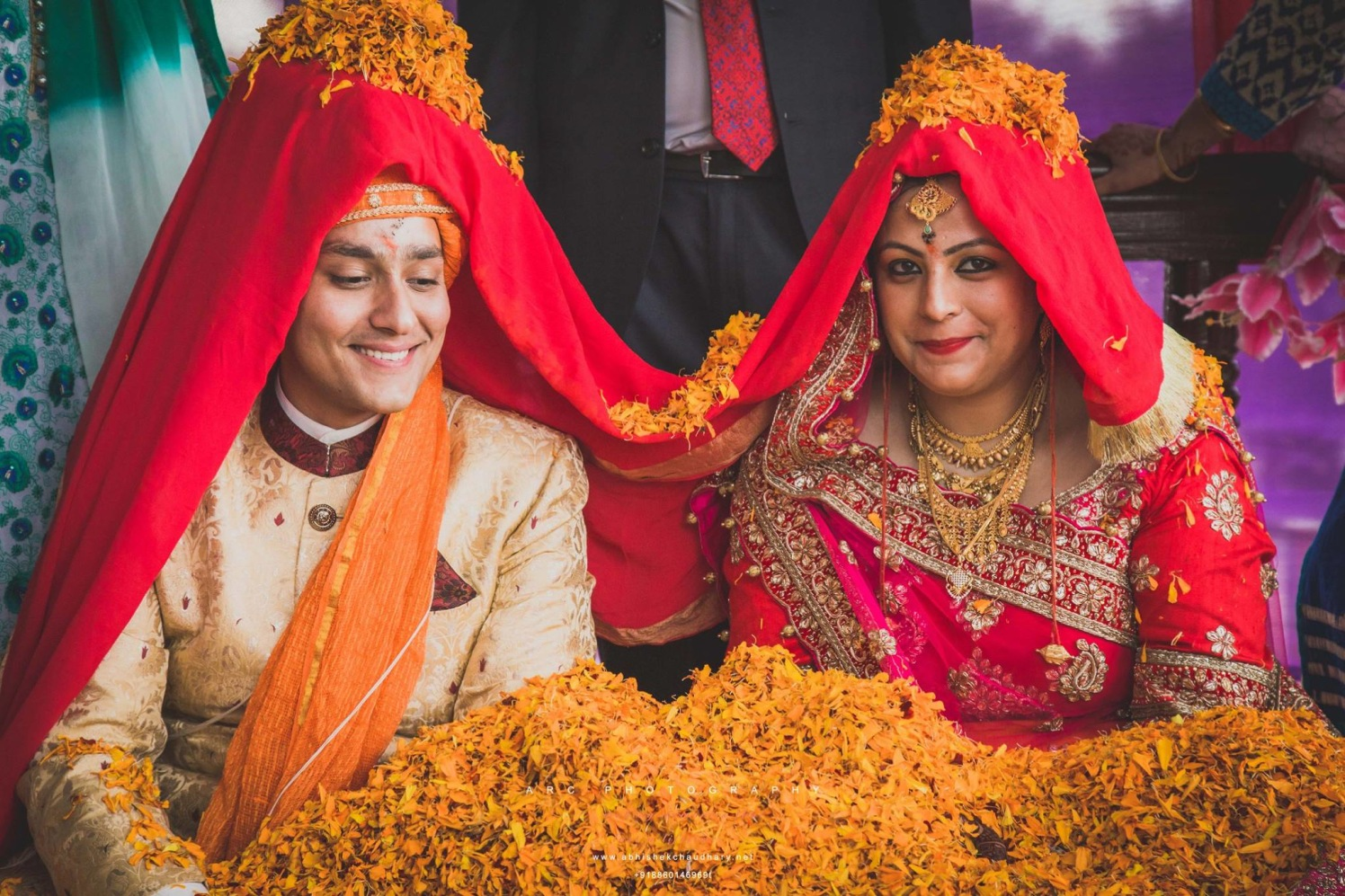 Shower of blessings by ARC Photography Wedding-photography | Weddings Photos & Ideas