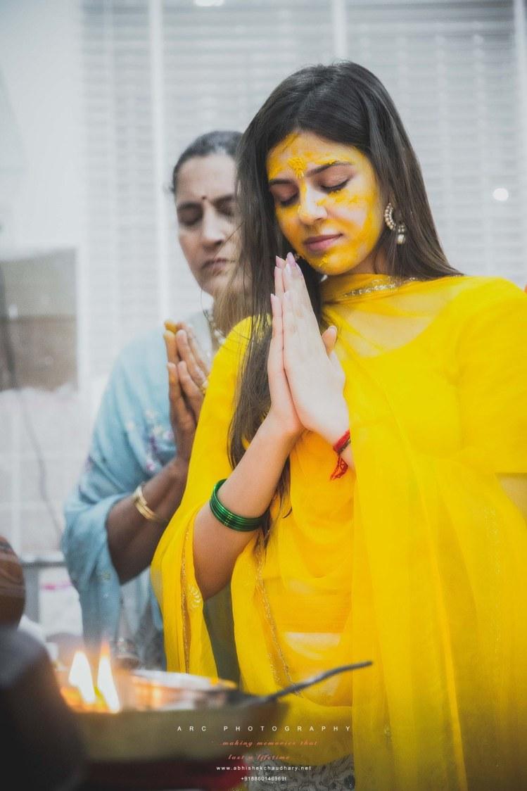 Heeding haldi rites by ARC Photography Wedding-photography | Weddings Photos & Ideas