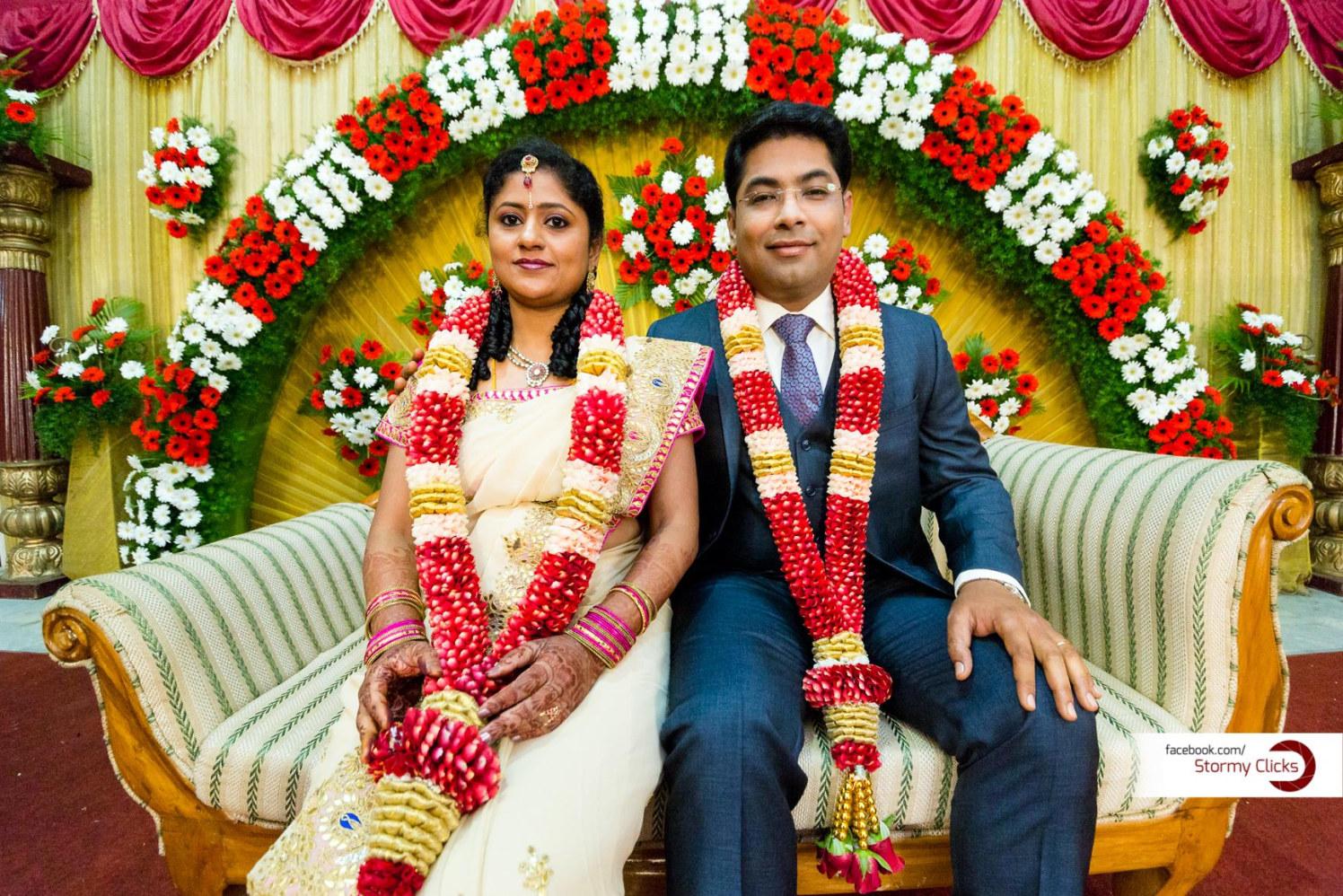 Floral Wedding Stage by Deepak Subramanian Wedding-photography Wedding-decor   Weddings Photos & Ideas
