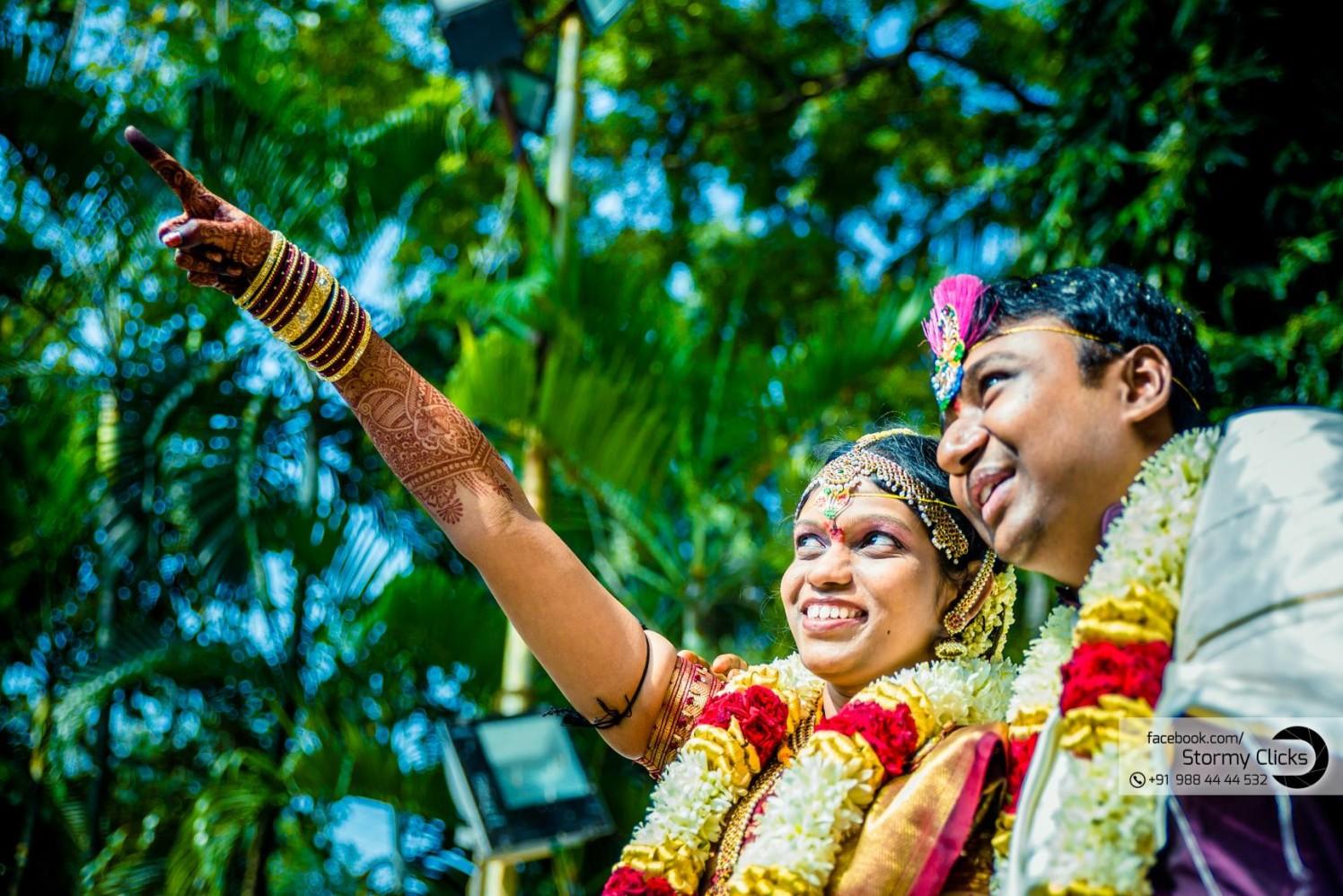 Cute newlyweds by stormy clicks  Wedding-photography | Weddings Photos & Ideas