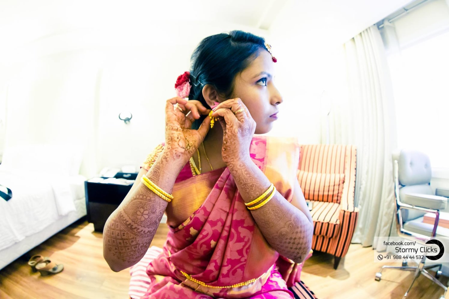 Gleaming belle in pink by stormy clicks  Wedding-photography | Weddings Photos & Ideas