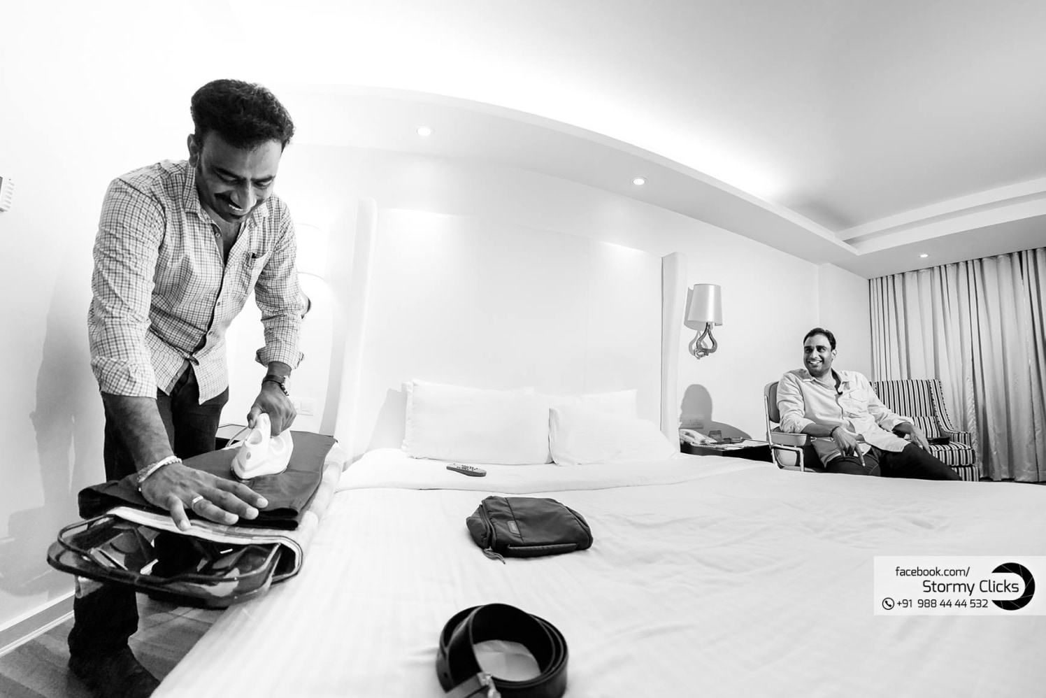Prepping up for the day by stormy clicks  Wedding-photography   Weddings Photos & Ideas