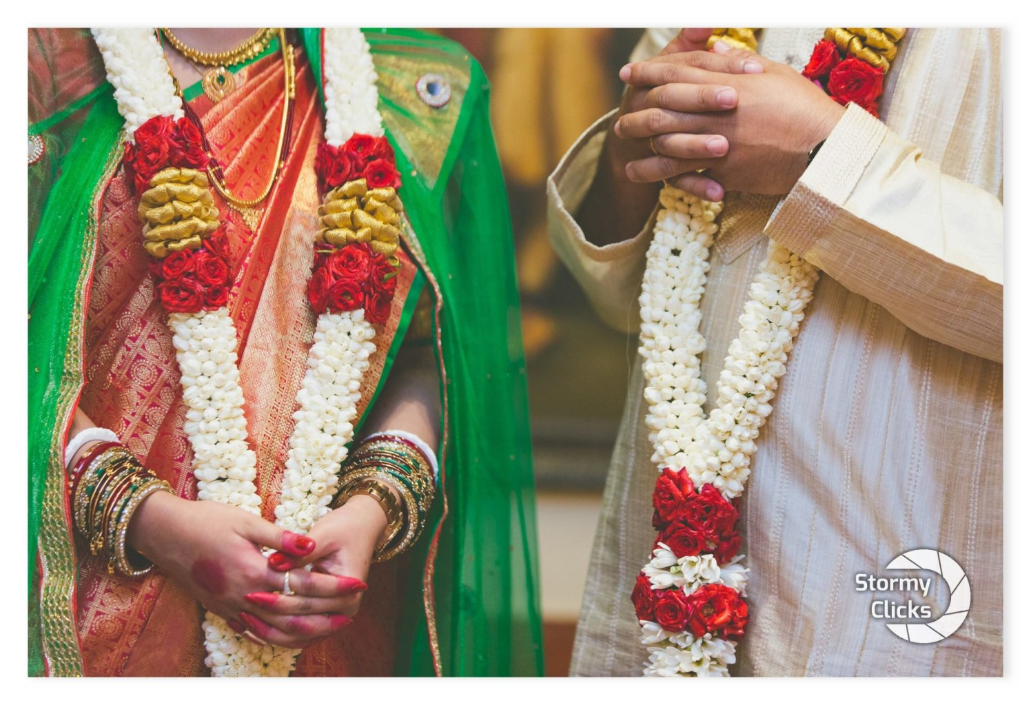 Beauteous garlands of love by stormy clicks  Wedding-photography | Weddings Photos & Ideas