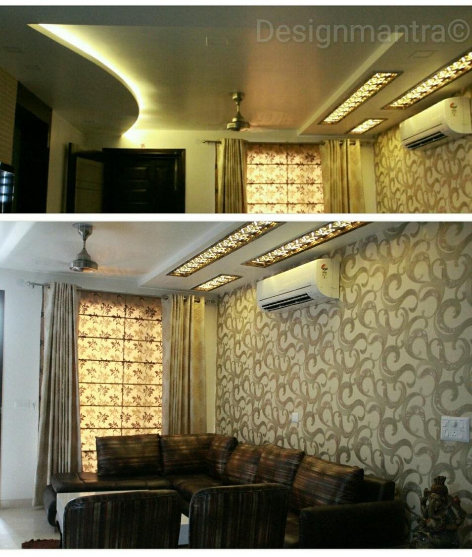Contemporary living room by Designmantra Contemporary   Interior Design Photos & Ideas