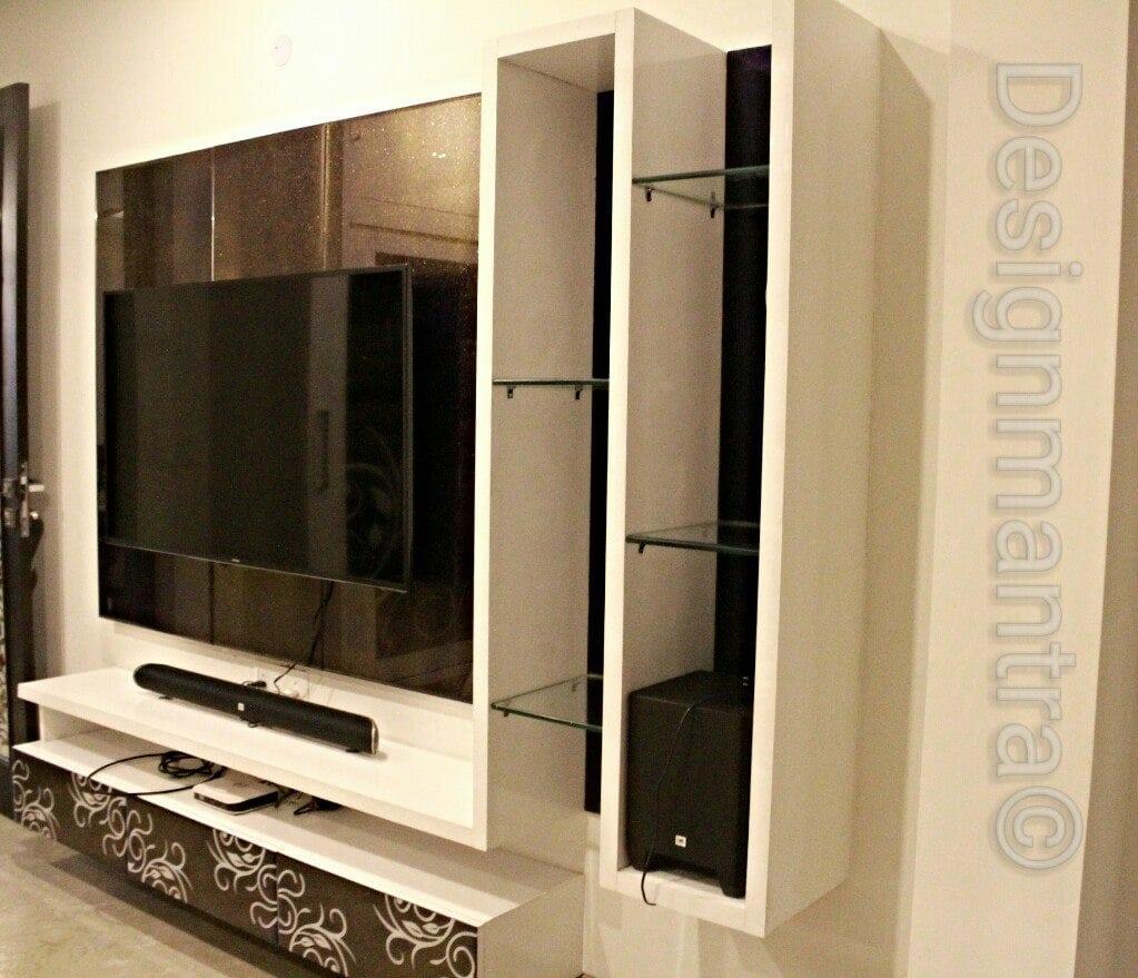 Contemporary TV cabinet by Designmantra Contemporary | Interior Design Photos & Ideas