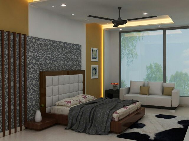 Contemporary Bedroom by Designmantra Contemporary | Interior Design Photos & Ideas