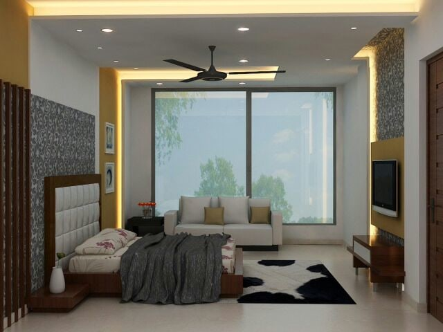 Contemporary Bedroom by Designmantra Contemporary   Interior Design Photos & Ideas