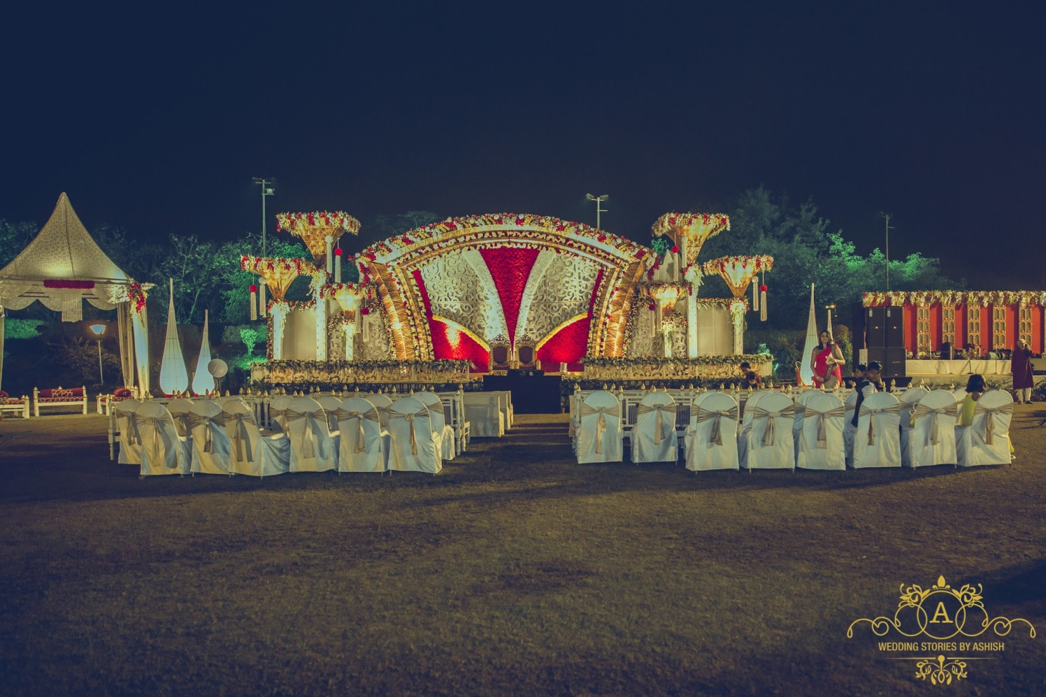 Majestic Wedding Decor Sight by Ashish Vengurlekar Wedding-photography | Weddings Photos & Ideas