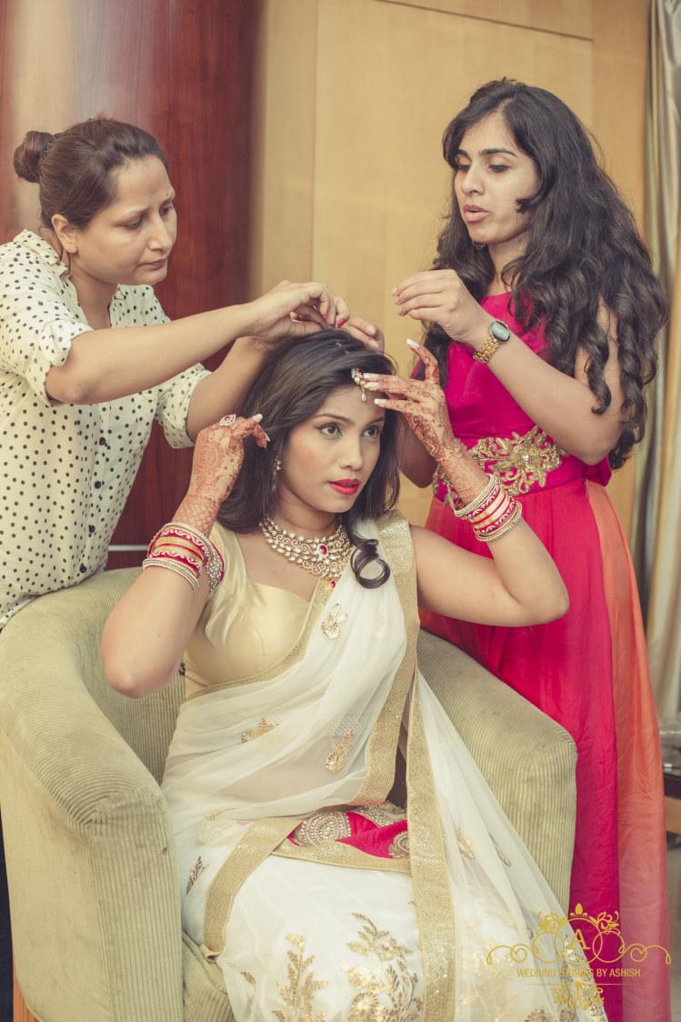 Bride Getting Ready For Big Day by Ashish Vengurlekar Wedding-photography | Weddings Photos & Ideas