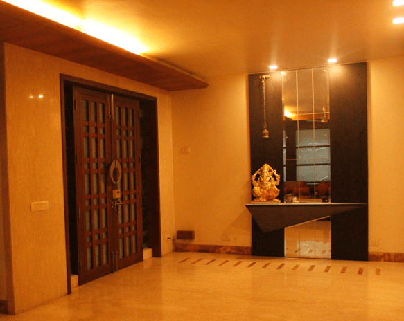 A Contemporary entrance by Every Inch Indoor-spaces Contemporary | Interior Design Photos & Ideas