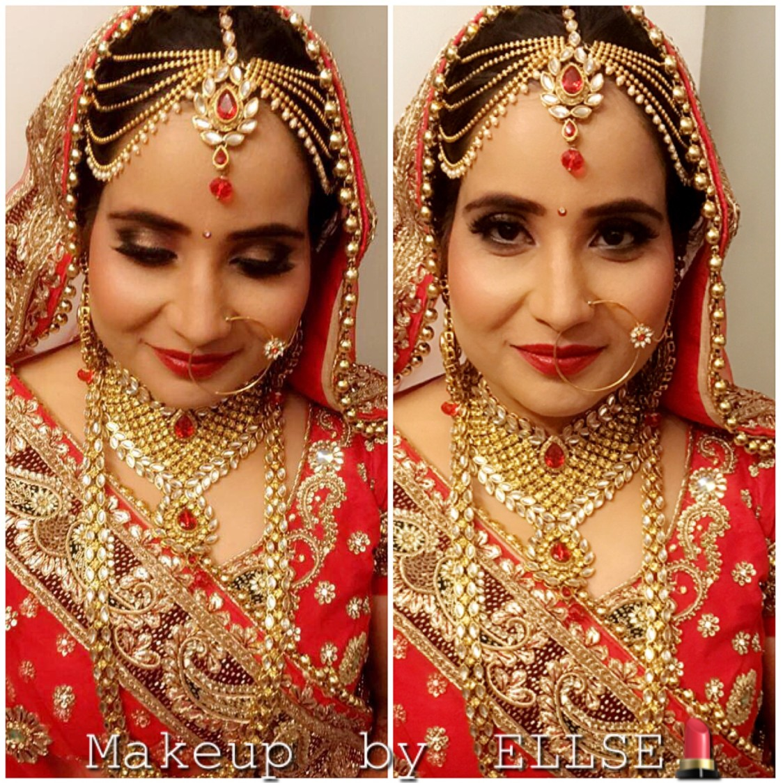 Dolled up by Ellse Makeovers Bridal-makeup | Weddings Photos & Ideas