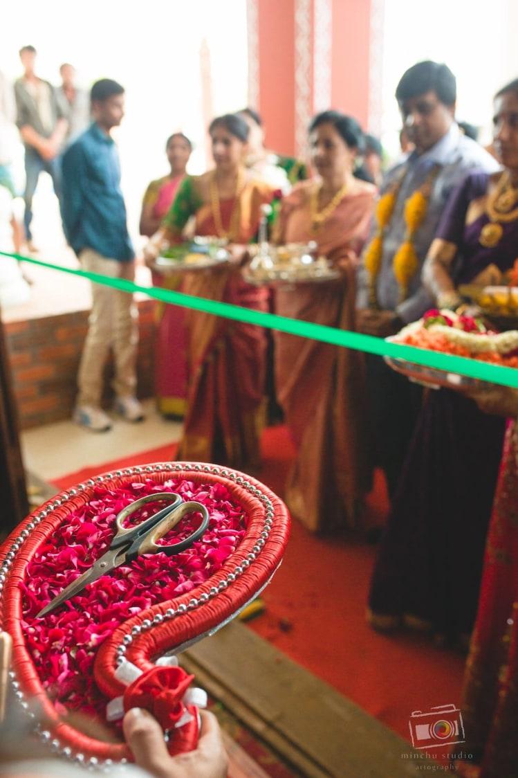 Ribbon Cutting Ceremony by Minchu Studio Wedding-photography | Weddings Photos & Ideas