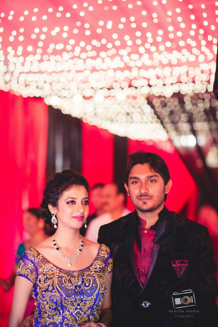 Couple at wedding Reception by Minchu Studio Wedding-photography | Weddings Photos & Ideas