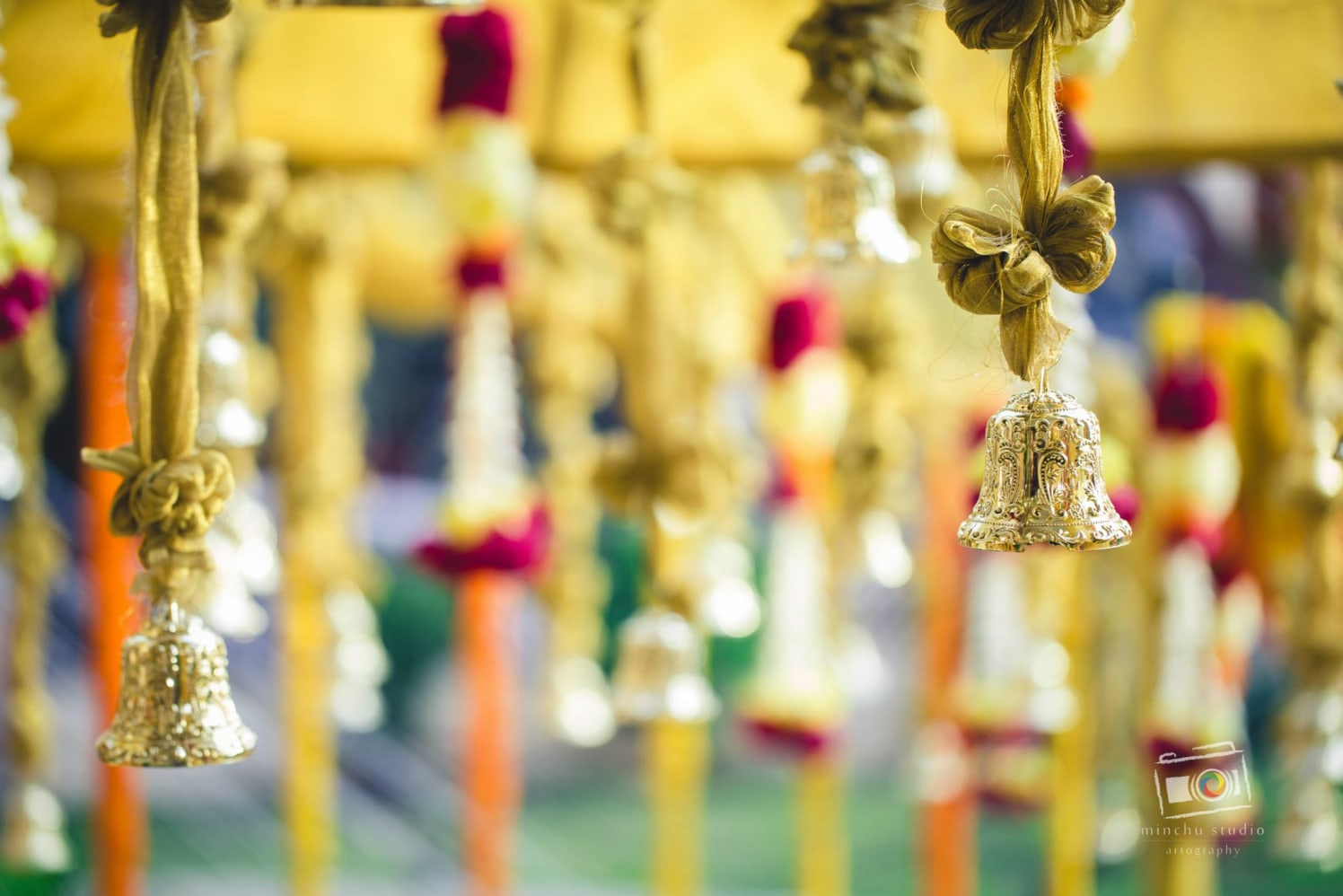 Golden Bells Wedding Decor by Shreyanka Sujay Wedding-photography Wedding-decor | Weddings Photos & Ideas