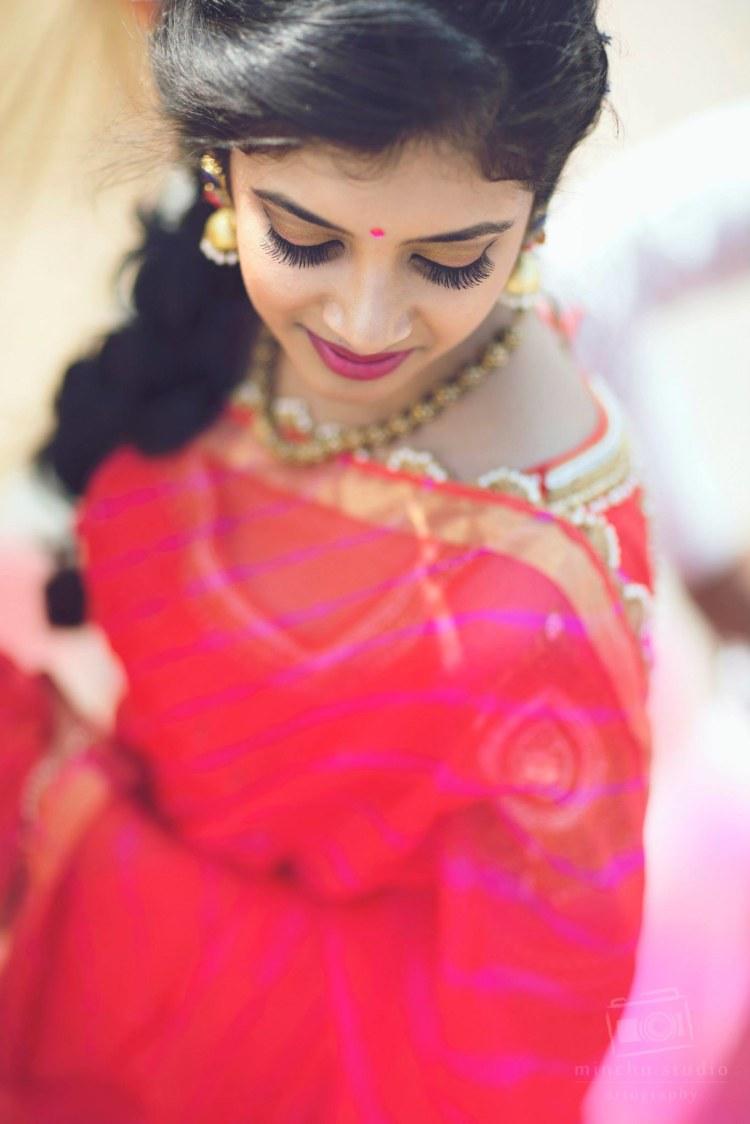 Beautiful Saree by Minchu Studio Wedding-photography Bridal-jewellery-and-accessories | Weddings Photos & Ideas