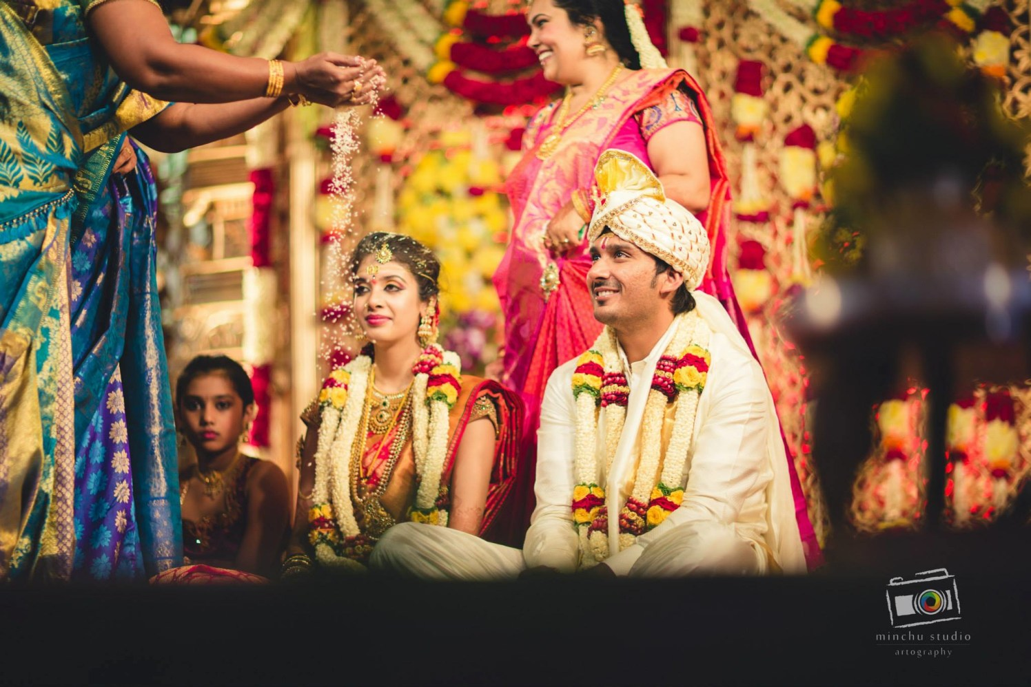 Special Traditions by Minchu Studio Wedding-photography Groom-wear-and-accessories Bridal-jewellery-and-accessories Wedding-hairstyles | Weddings Photos & Ideas