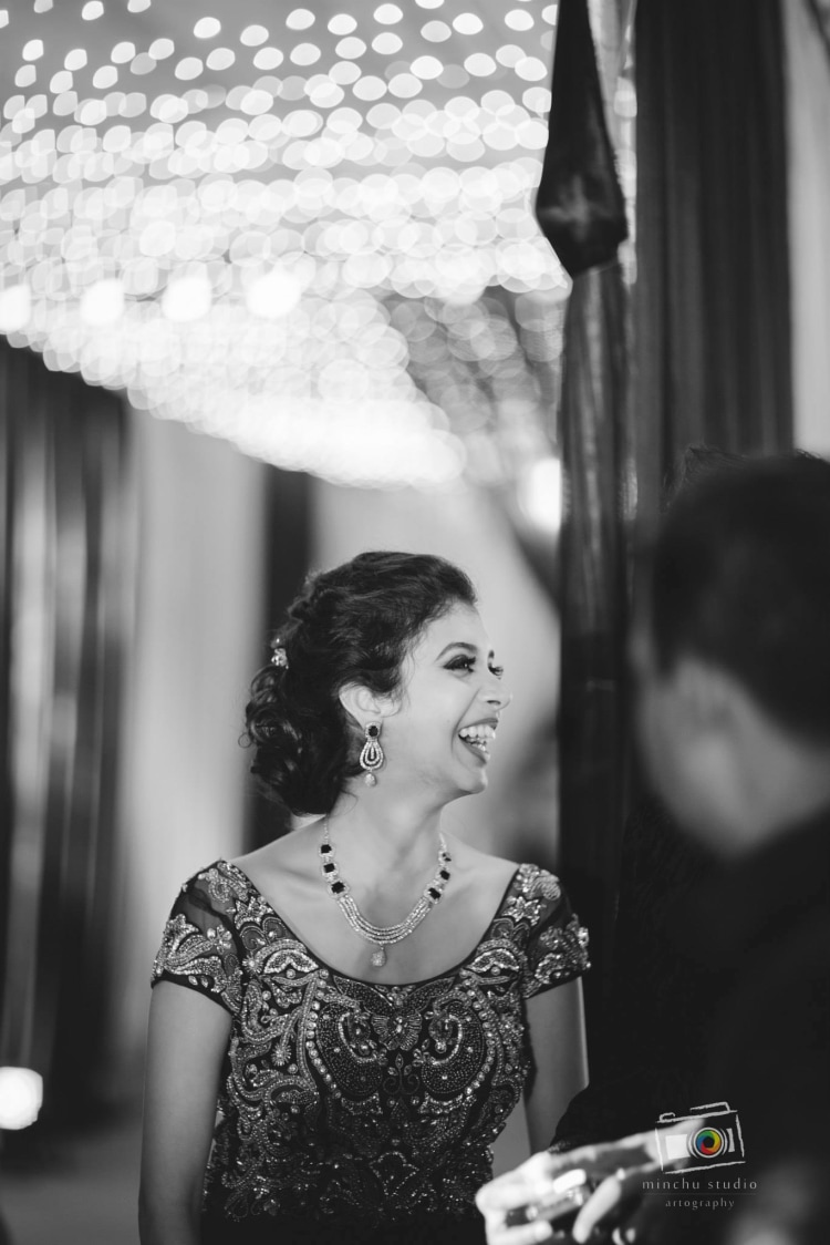 Happy Bride by Minchu Studio Wedding-photography Bridal-jewellery-and-accessories | Weddings Photos & Ideas