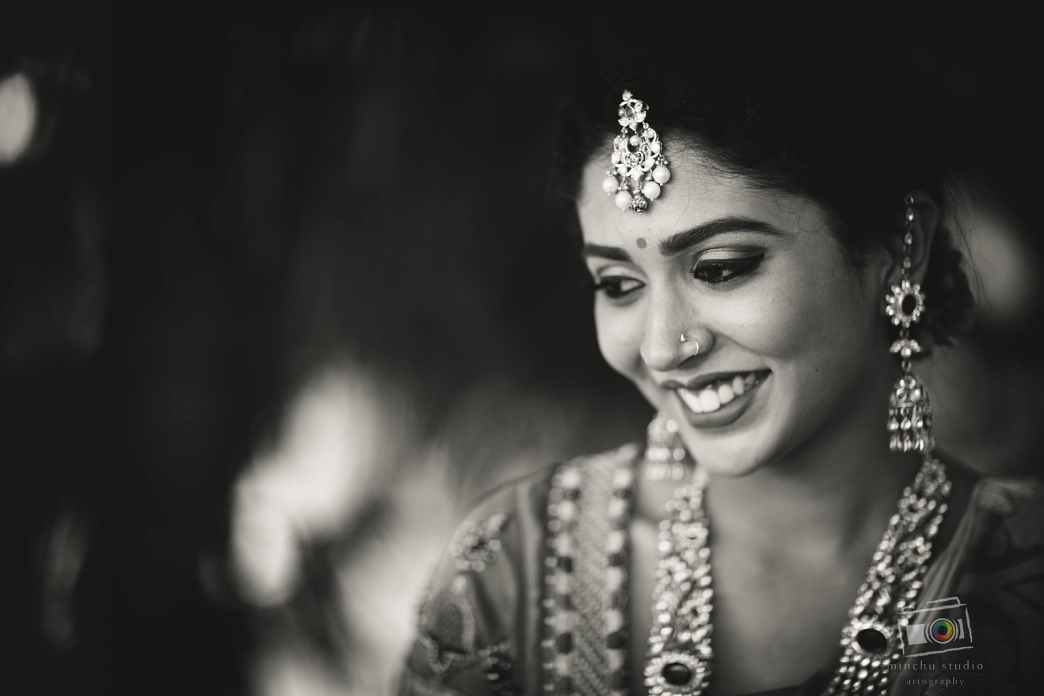 Elegant Bride by Minchu Studio Wedding-photography Bridal-jewellery-and-accessories | Weddings Photos & Ideas