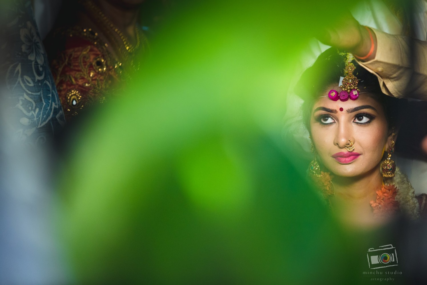 South Indian Bride by Minchu Studio Wedding-photography Bridal-jewellery-and-accessories | Weddings Photos & Ideas