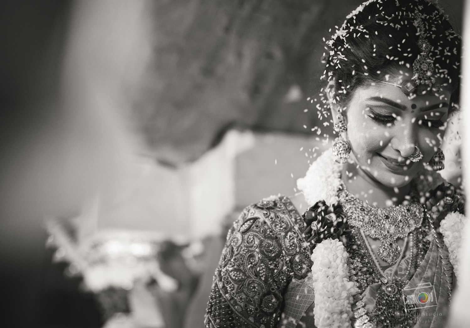 Shower of Blessings by Minchu Studio Wedding-photography Bridal-jewellery-and-accessories | Weddings Photos & Ideas