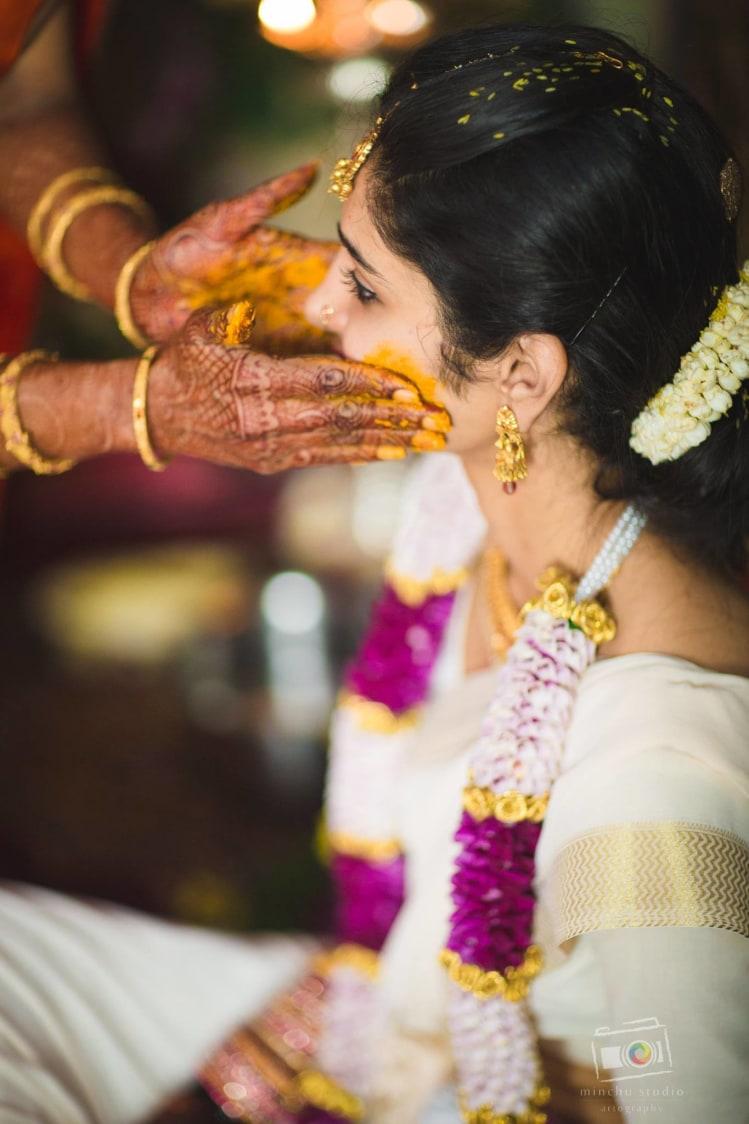 Haldi ceremony by Minchu Studio Wedding-photography | Weddings Photos & Ideas