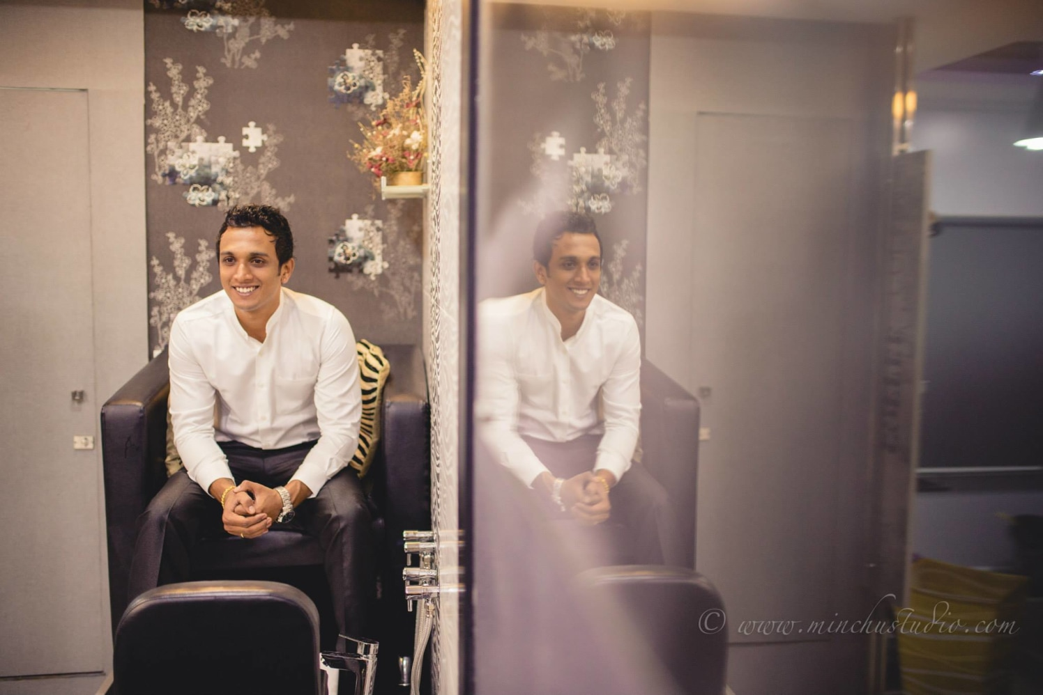 Handsome Groom by Minchu Studio Wedding-photography | Weddings Photos & Ideas