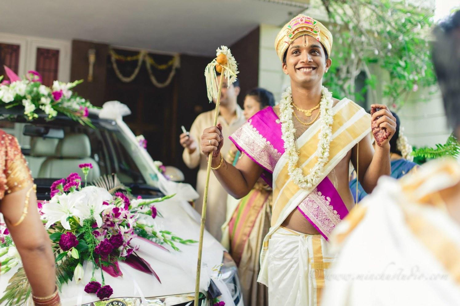 Happy Groom by Minchu Studio Wedding-photography Groom-wear-and-accessories | Weddings Photos & Ideas