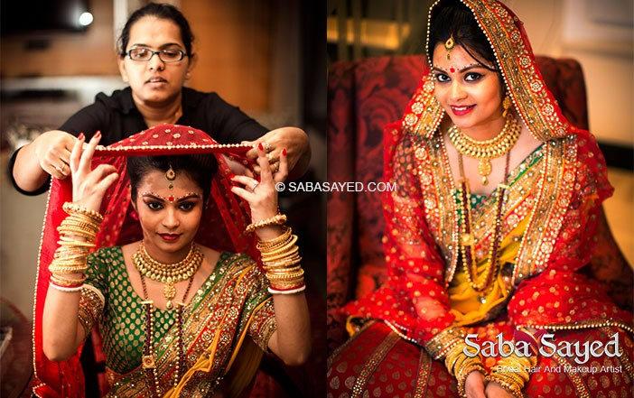 Wedding day look by Saba Sayed Bridal-makeup   Weddings Photos & Ideas
