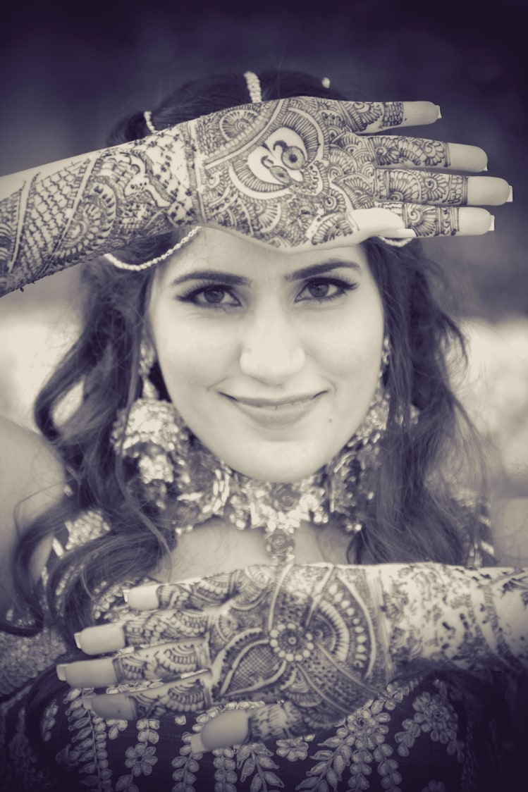 Beautiful Floral Heena Designs by Slice of Life Pictures Bridal-mehendi | Weddings Photos & Ideas