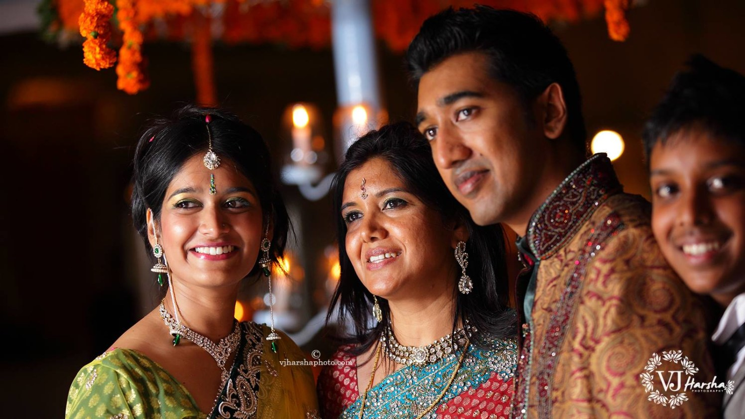 A Smiling Picture with the Family by Vjharsha Photography Wedding-photography | Weddings Photos & Ideas