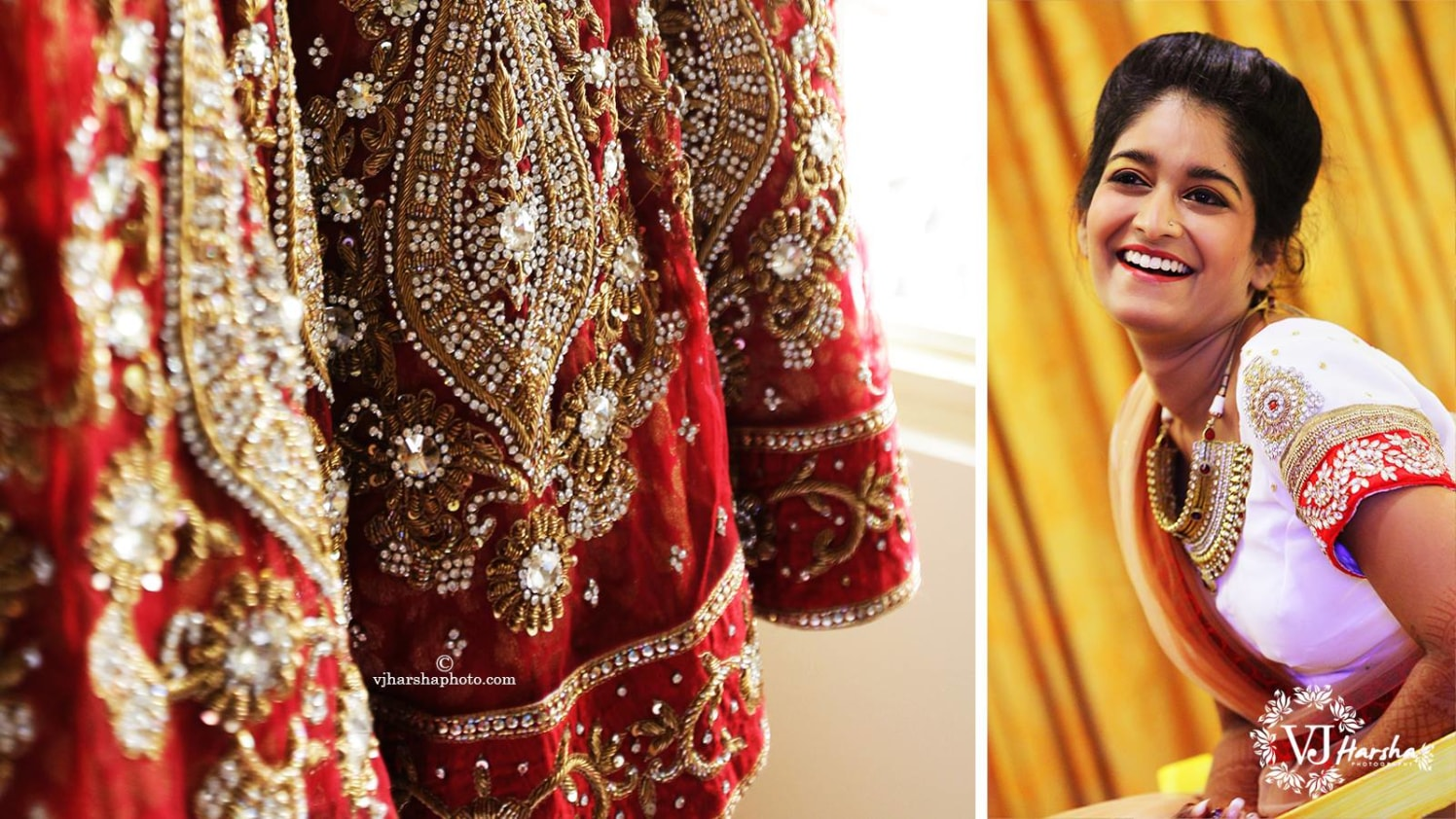 The Bride with a Stellar Smile by Vjharsha Photography Wedding-photography | Weddings Photos & Ideas