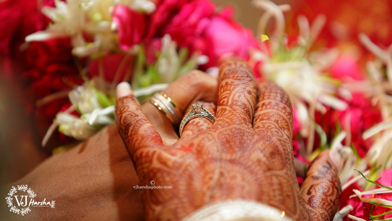 Intricate Henna complimenting the Wedding Ring by Vjharsha Photography Wedding-photography Bridal-jewellery-and-accessories | Weddings Photos & Ideas
