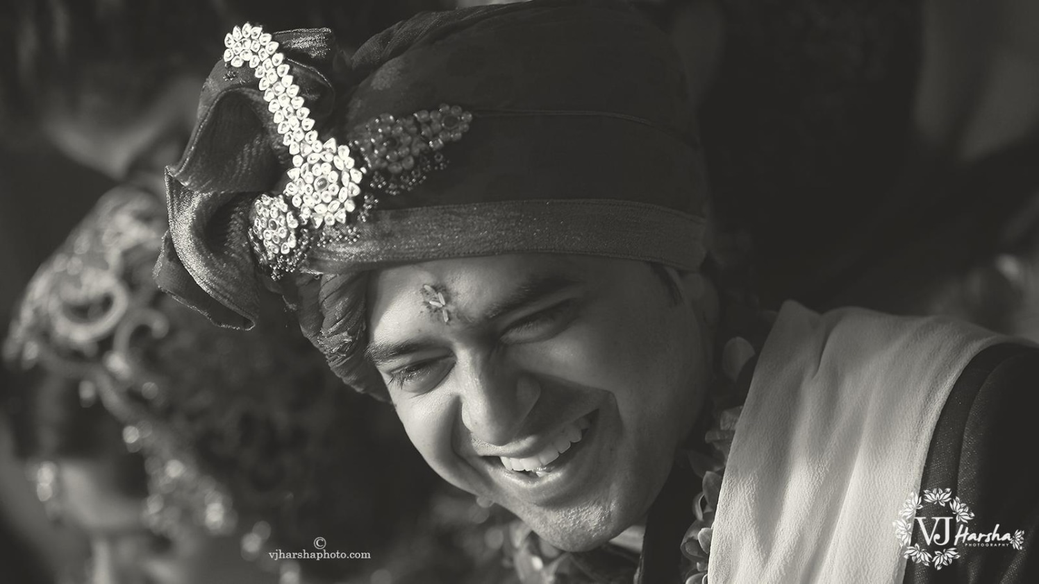 Candid Photo Of the Smiling Groom by Vjharsha Photography Wedding-photography | Weddings Photos & Ideas