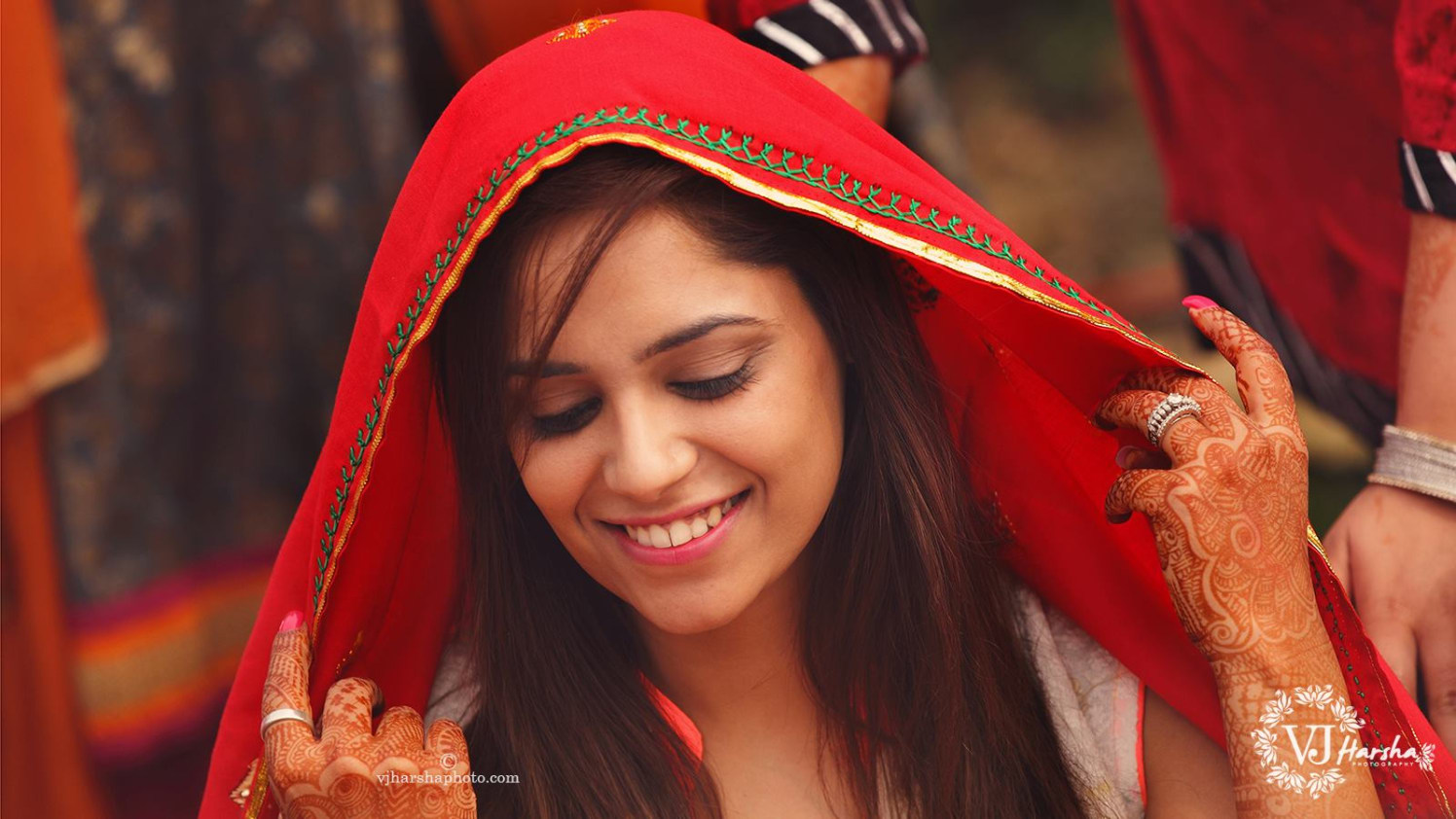 The Bride with a Beautiful Smile by Vjharsha Photography Wedding-photography | Weddings Photos & Ideas