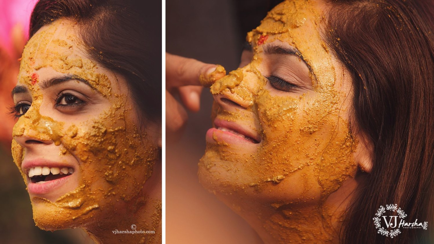 Bride Covered in Haldi by Vjharsha Photography Wedding-photography | Weddings Photos & Ideas