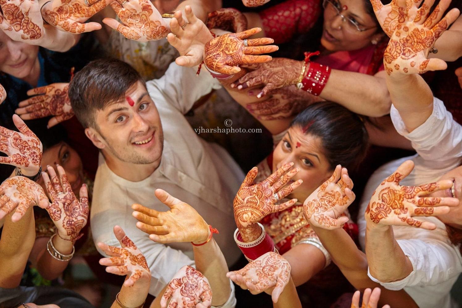 The Happiness of Henna by Vjharsha Photography Wedding-photography Bridal-mehendi | Weddings Photos & Ideas