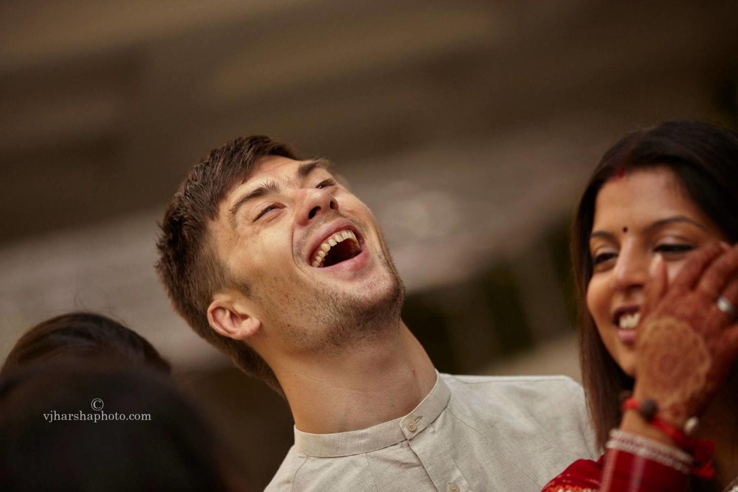 Laughter is the best medicine by Vjharsha Photography Wedding-photography | Weddings Photos & Ideas