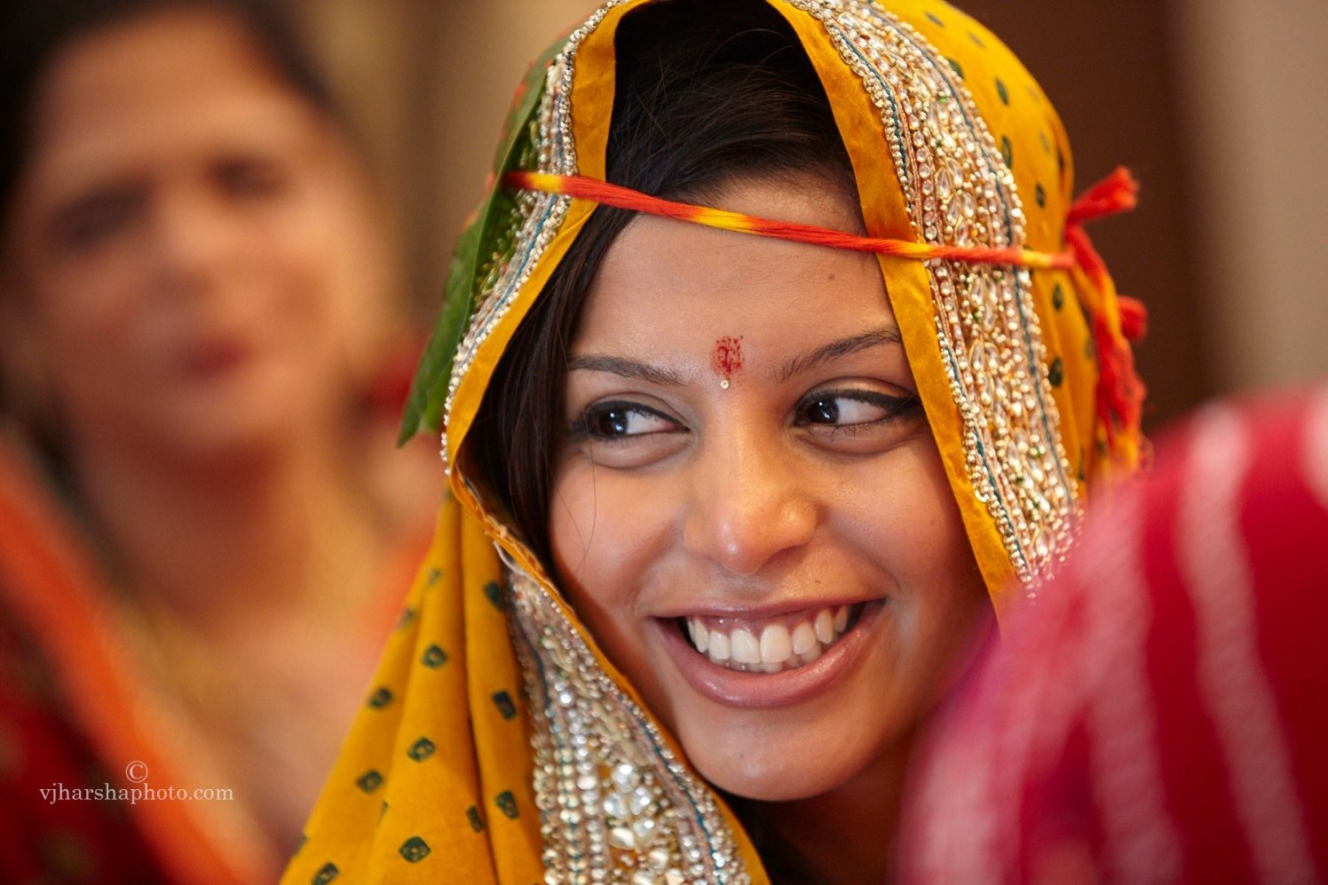 Bride with A Beautiful Smile by Vjharsha Photography Wedding-photography | Weddings Photos & Ideas
