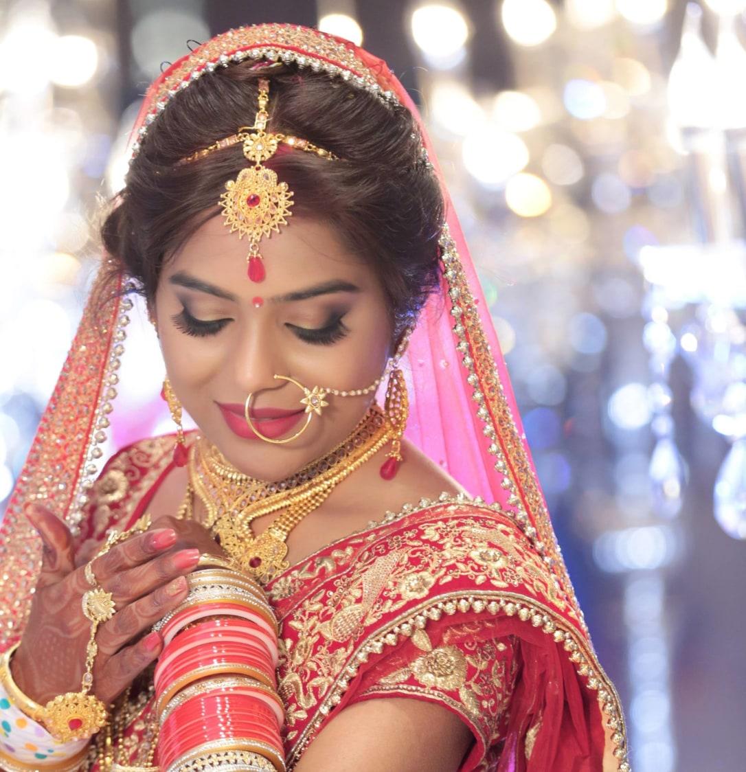 Bride Wearing Ravishing Bridal Jewellery by Mukesh bijalwan  Wedding-photography Bridal-jewellery-and-accessories Bridal-makeup | Weddings Photos & Ideas