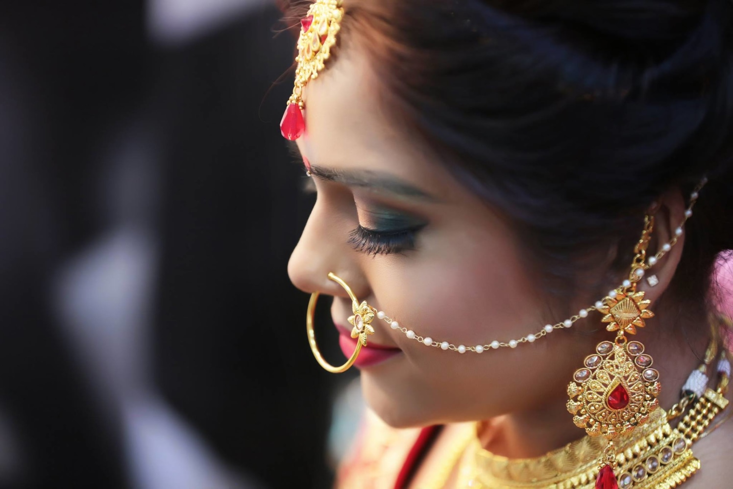 Embellished With Divinity by Mukesh bijalwan  Wedding-photography Bridal-jewellery-and-accessories Bridal-makeup | Weddings Photos & Ideas
