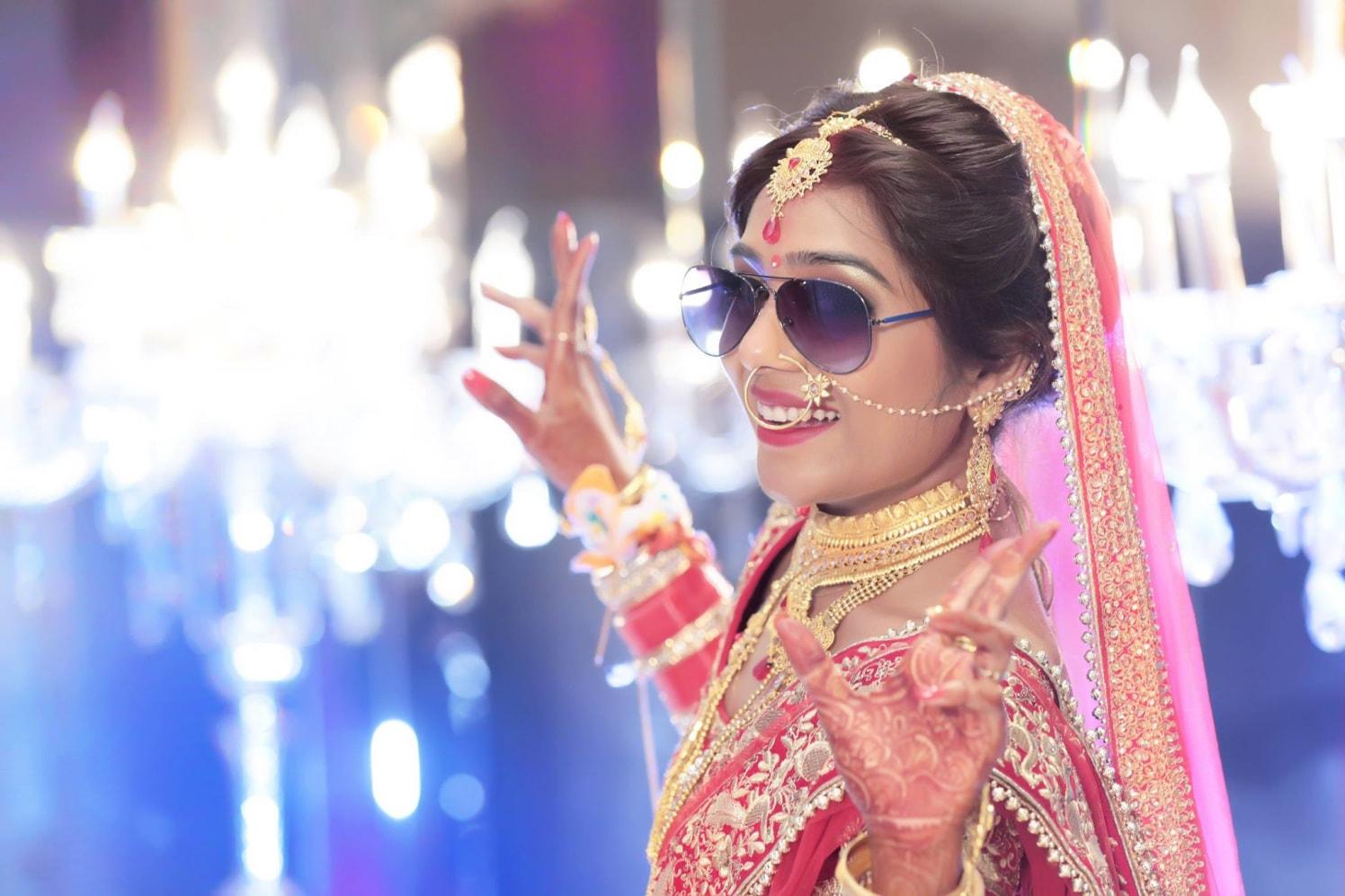 Joyful Queen by Mukesh bijalwan  Wedding-photography Bridal-jewellery-and-accessories Bridal-makeup | Weddings Photos & Ideas