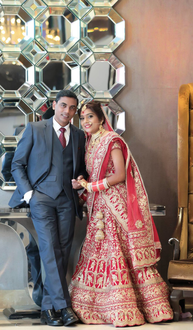 Beautiful Portrait Of The Couple by Mukesh bijalwan  Wedding-photography Groom-wear-and-accessories Wedding-dresses | Weddings Photos & Ideas